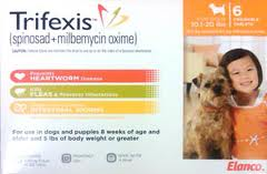 Browse this great offer: Trifexis for dogs: 3-in-1 parasite protection, and save more with Trifexis coupons and deals. Use this coupon code to enjoy Trifexis for dogs: 3-in .